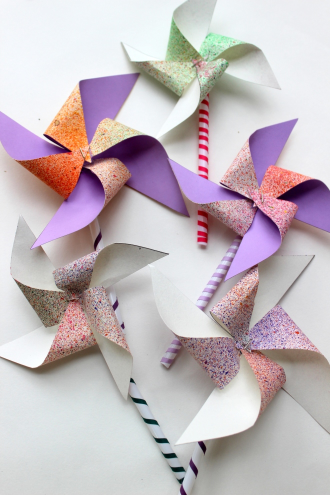 Pinwheels made in 5 minutes or less