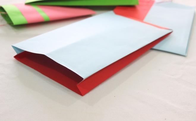 Handmade paper gazette bag | How to make gift bags